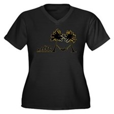 Hammock Women's Plus Size V-Neck Dark T-Shirt