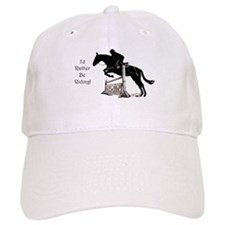 I'd Rather Be Riding Horse Baseball Cap