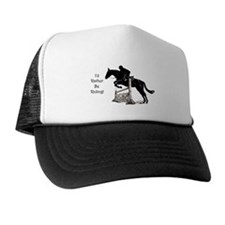 I'd Rather Be Riding Horse Trucker Hat