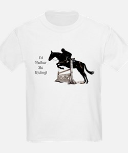 I'd Rather Be Riding Horse T-Shirt