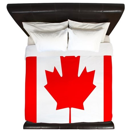 June 14 2012 Cafepress King Duvet Canada Flag d Ki
