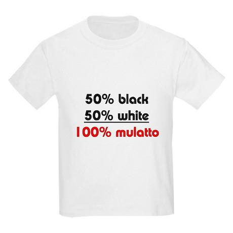 Biracial Pride/Mulatto Kids T-Shirt