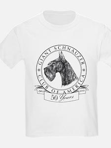 Giant Schnauzer Club of America Logo T-Shirt