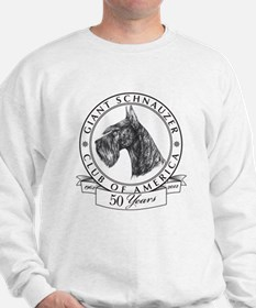 Giant Schnauzer Club of America Logo Sweatshirt