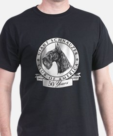 Giant Schnauzer Club of America Logo T-Shirt