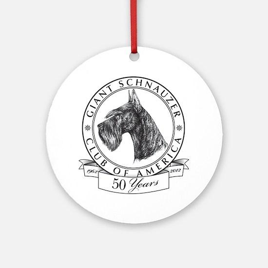 Giant Schnauzer Club of America Logo Ornament (Rou