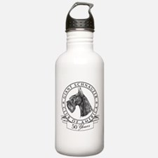 Giant Schnauzer Club of America Logo Water Bottle