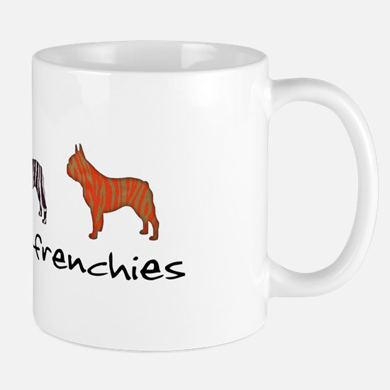 Wild About Frenchies Mug