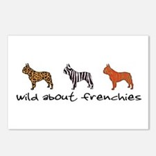 Wild About Frenchies Postcards (Package of 8)