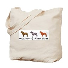 Wild About Frenchies Tote Bag