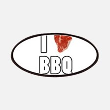 I Heart BBQ Patches