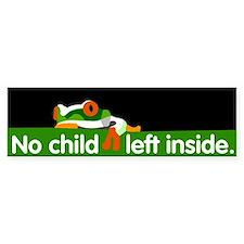 No Child Left Inside Bumper Bumper Bumper Sticker