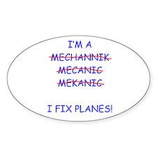 I Fix Planes Decal