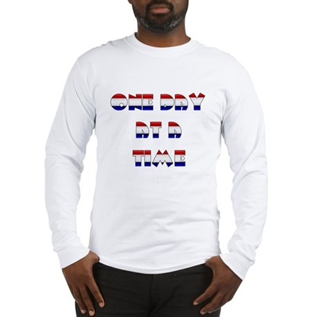 one day at a time rwb~2000x2000.png Long Sleeve T-
