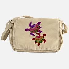 Painted Turtles Messenger Bag