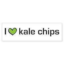 2-kalechips.png Bumper Sticker