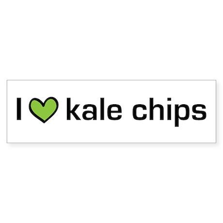 2-kalechips.png Sticker (Bumper)