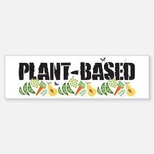 plant-based2-wht.png Bumper Bumper Sticker