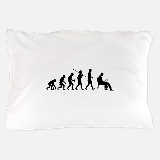 Laptop User Pillow Case