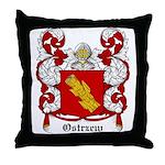 Ostrzew Coat of Arms Throw Pillow