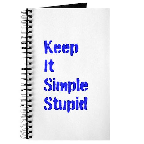 KeepItSimpleStupid Journal