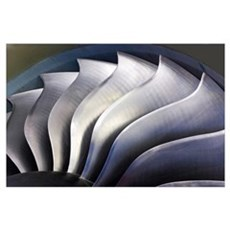 S-curve fan blades Poster