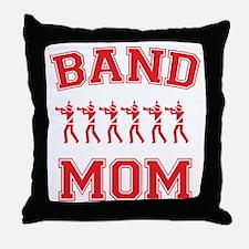 Band Mom Throw Pillow