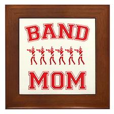 Band Mom Framed Tile