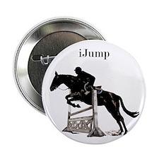 "Fun iJump Equestrian Horse 2.25"" Button"
