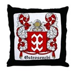 Ostrosenchi Coat of Arms Throw Pillow