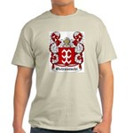 Ostrosenchi Coat of Arms Ash Grey T-Shirt