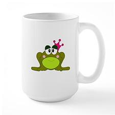 Frog Princess Pink Crown Mug