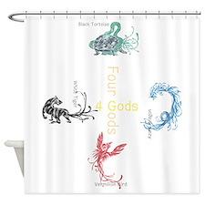 Cute Japan Shower Curtain