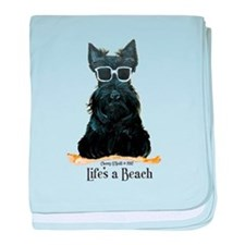 Scottie Beach baby blanket