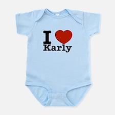 I Love Karly Infant Bodysuit