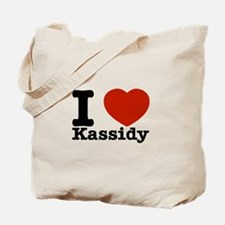 I Love Kassidy Tote Bag