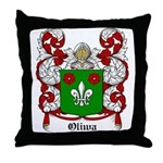 Oliwa Coat of Arms Throw Pillow