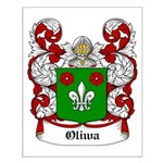 Oliwa Coat of Arms Small Poster