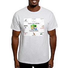 Teachers Make All Other Profe Ash Grey T-Shirt