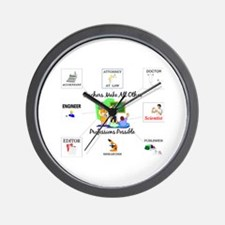 Teachers Make All Other Profe Wall Clock