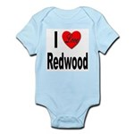 I Love Redwood Infant Creeper