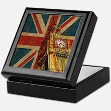 Vintage Union Jack Keepsake Box