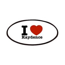 I Love Kaydence Patches