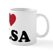 I Love Tulsa Oklahoma Mug