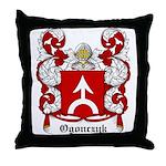 Ogonczyk Coat of Arms Throw Pillow