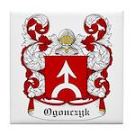 Ogonczyk Coat of Arms Tile Coaster