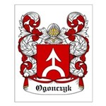 Ogonczyk Coat of Arms Small Poster