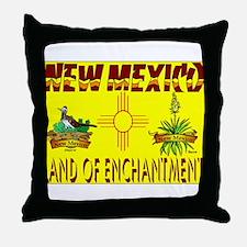 New Mexico USA Throw Pillow