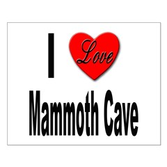 I Love Mammoth Cave Posters