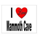 I Love Mammoth Cave Small Poster